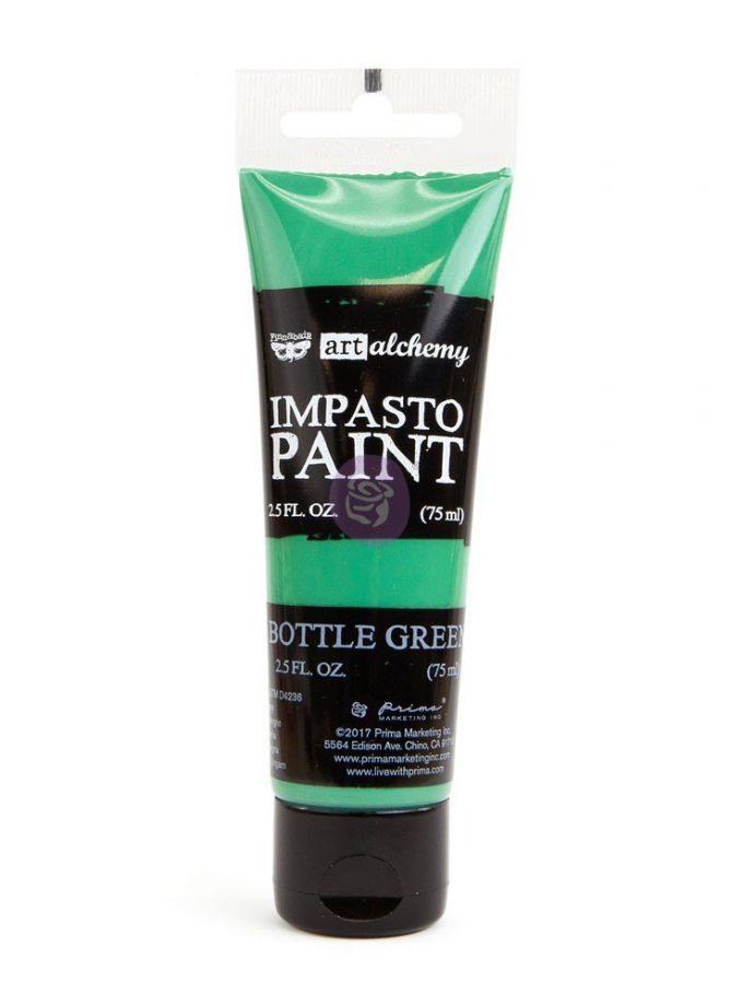 Art Alchemy - Impasto Paint - Bottle Green 2.5 oz
