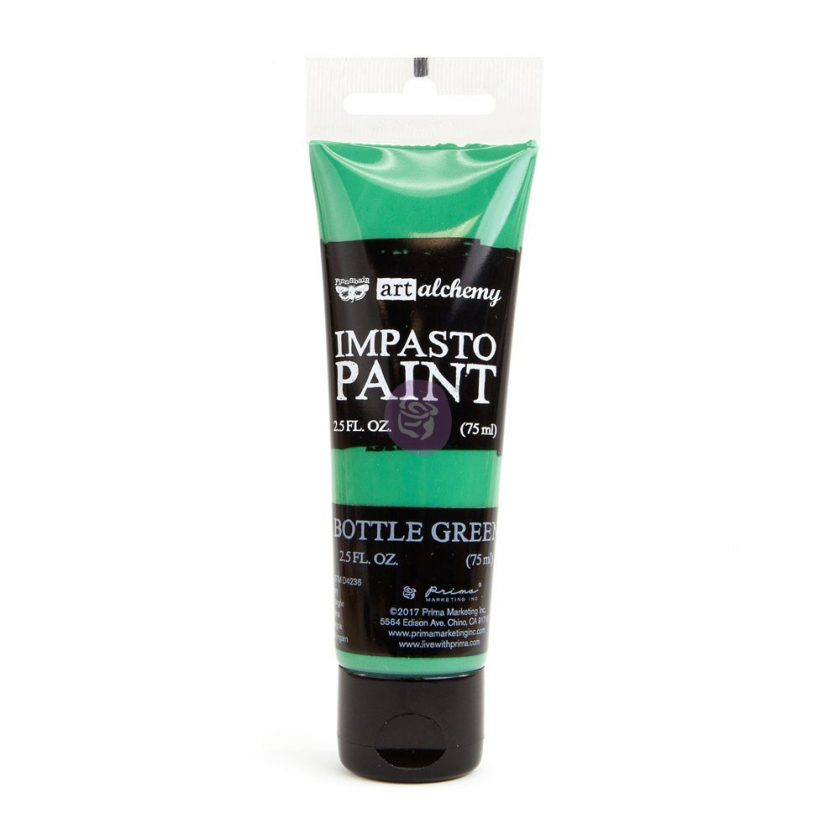 Art Alchemy - Impasto Paint - Bottle Green 2.5 oz