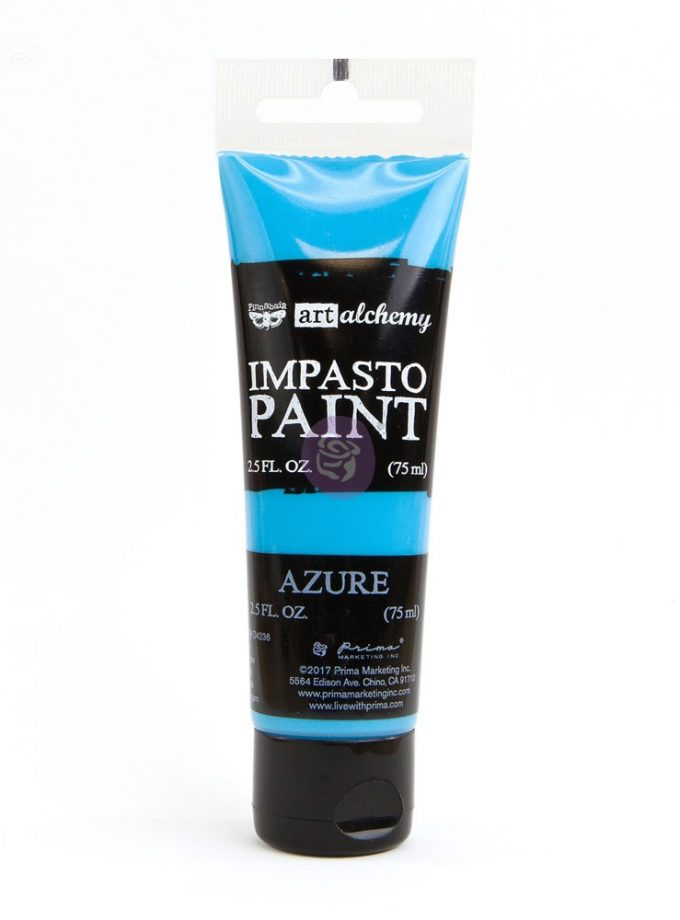 Art Alchemy - Impasto Paint - Azure 2.5 oz