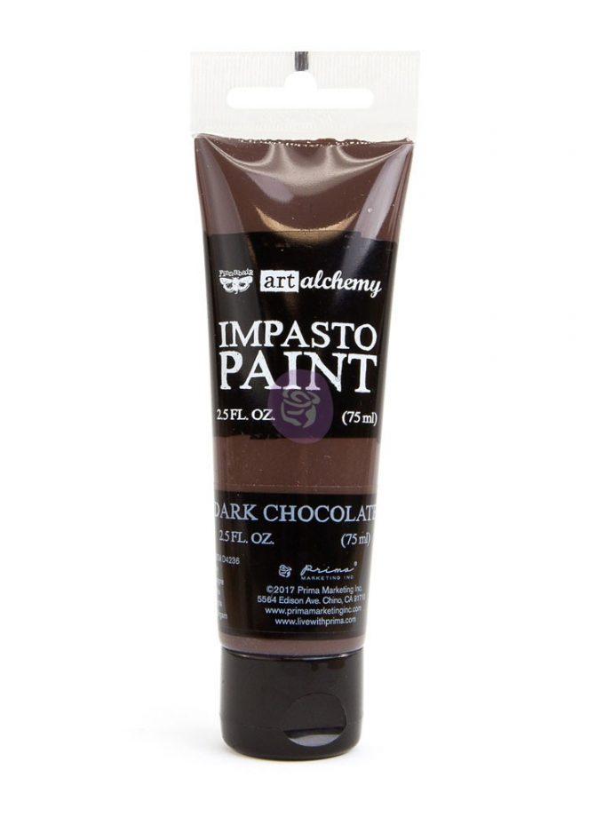 Art Alchemy - Impasto Paint - Dark Chocolate 2.5 oz