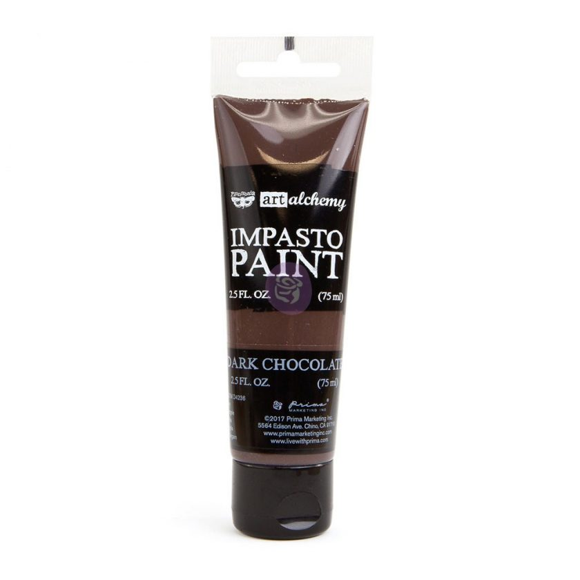 Art Alchemy - Impasto Paint - Dark Chocolate 2.5 oz