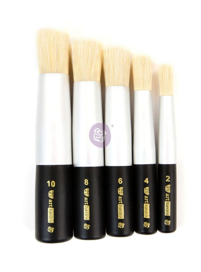 DABBING BRUSH SET 5 PCS