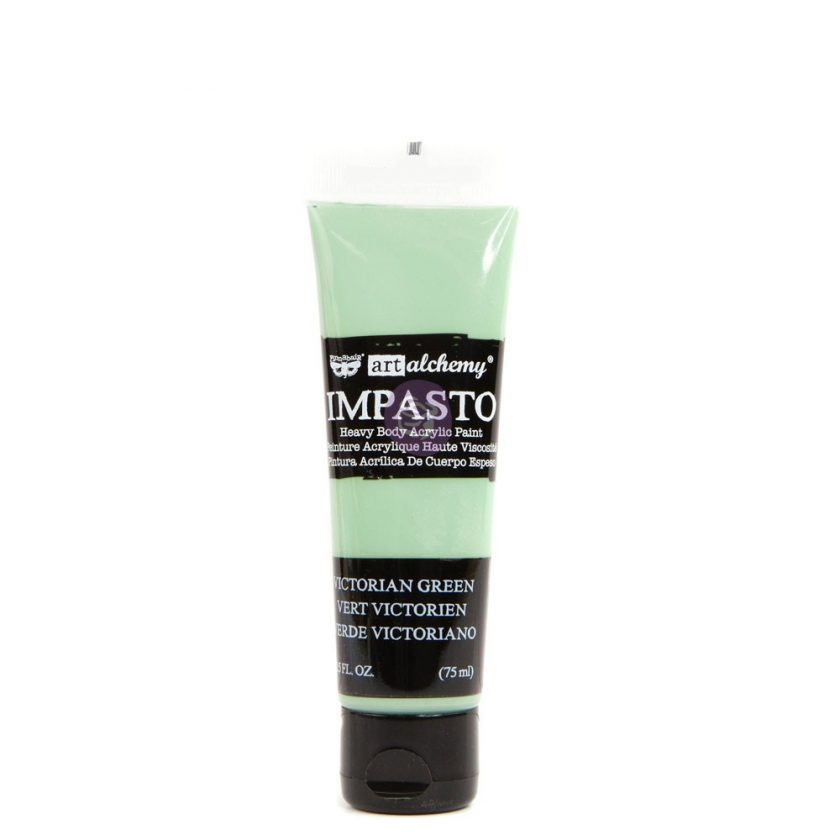Art Alchemy- Impasto Paint - Victorian Green