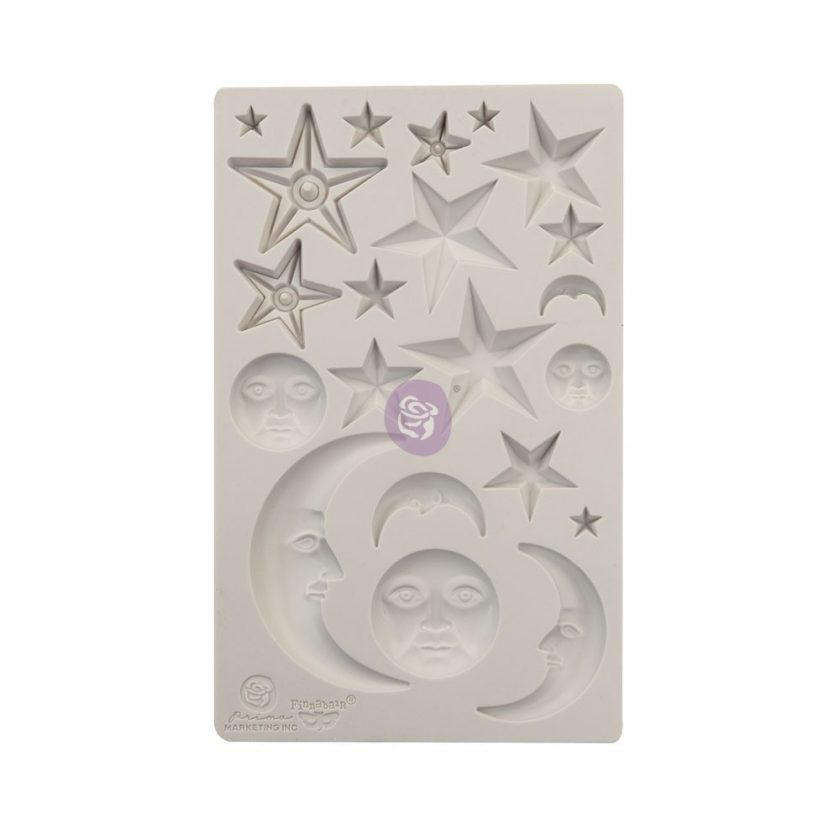 """5""""x8"""" Mould Start And Moons"""