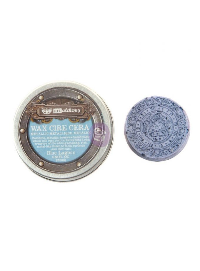 Art Alchemy- Metallique Wax - Blue Lagoon .68oz (20ml)