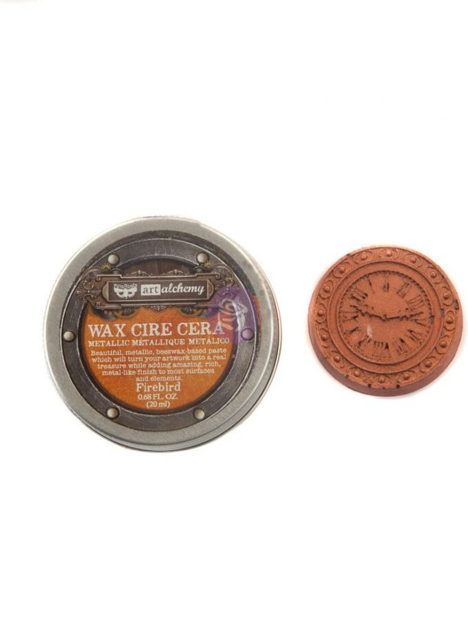 Art Alchemy- Metallique Wax - Firebird .68oz (20ml)