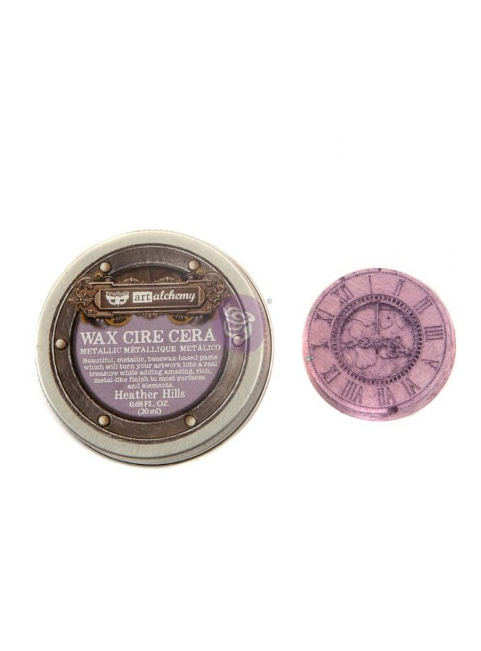 Art Alchemy- Metallique Wax - Heather Hills .68oz (20ml)