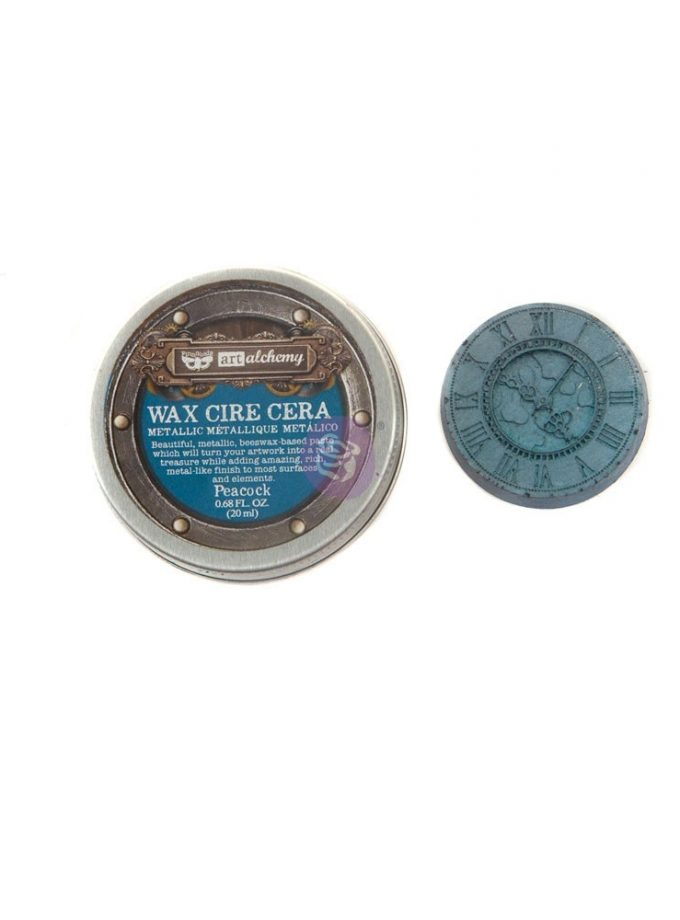 Art Alchemy-Metallique Wax - Peacock .68oz (20ml)