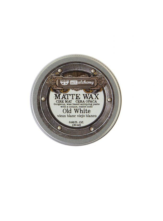 Finnabair Wax Paste - Old White - 0.68 fl oz (20 ml)