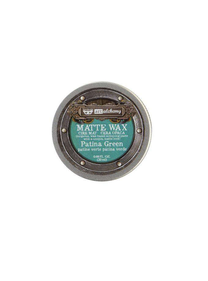 Finnabair Wax Paste - Patina Green - 0.68 fl oz (20 ml)