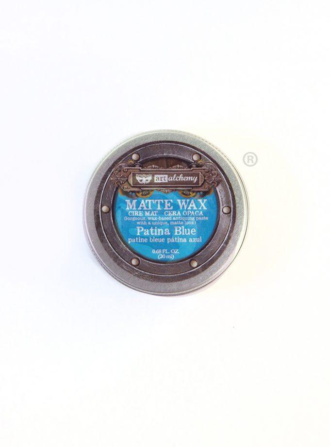Finnabair Wax Paste - Patina Blue - 0.68 fl oz (20 ml)