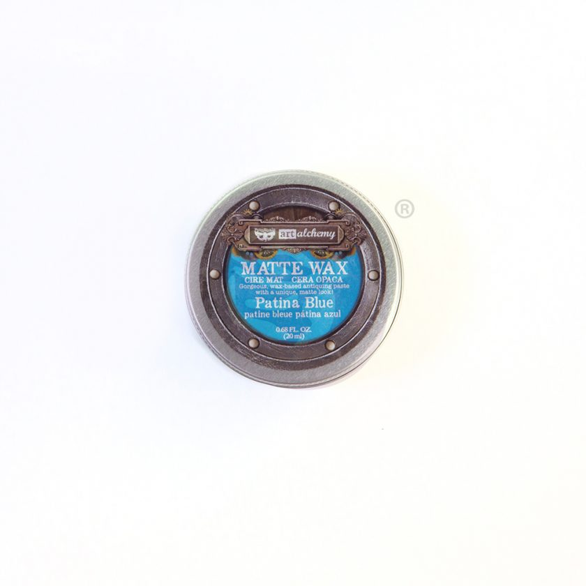 Finnabair Wax Paste - Patina Blue - 0.68 fl oz (20 ml)