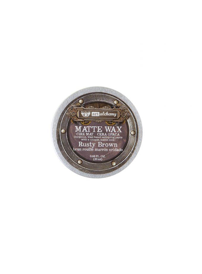 Finnabair Wax Paste - Rusty Brown - 0.68 fl oz (20 ml)