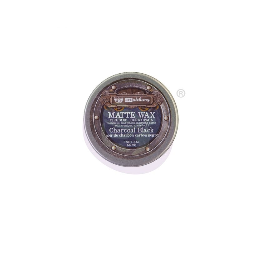 Finnabair Wax Paste - Charcoal Black - 0.68 fl oz (20 ml)