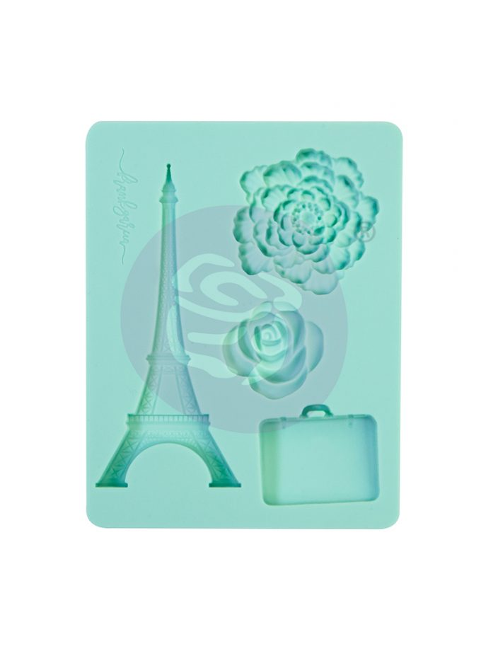 "Capri Collection Silicone Mould - 3.5"" x 4.5"", 8mm thickness"