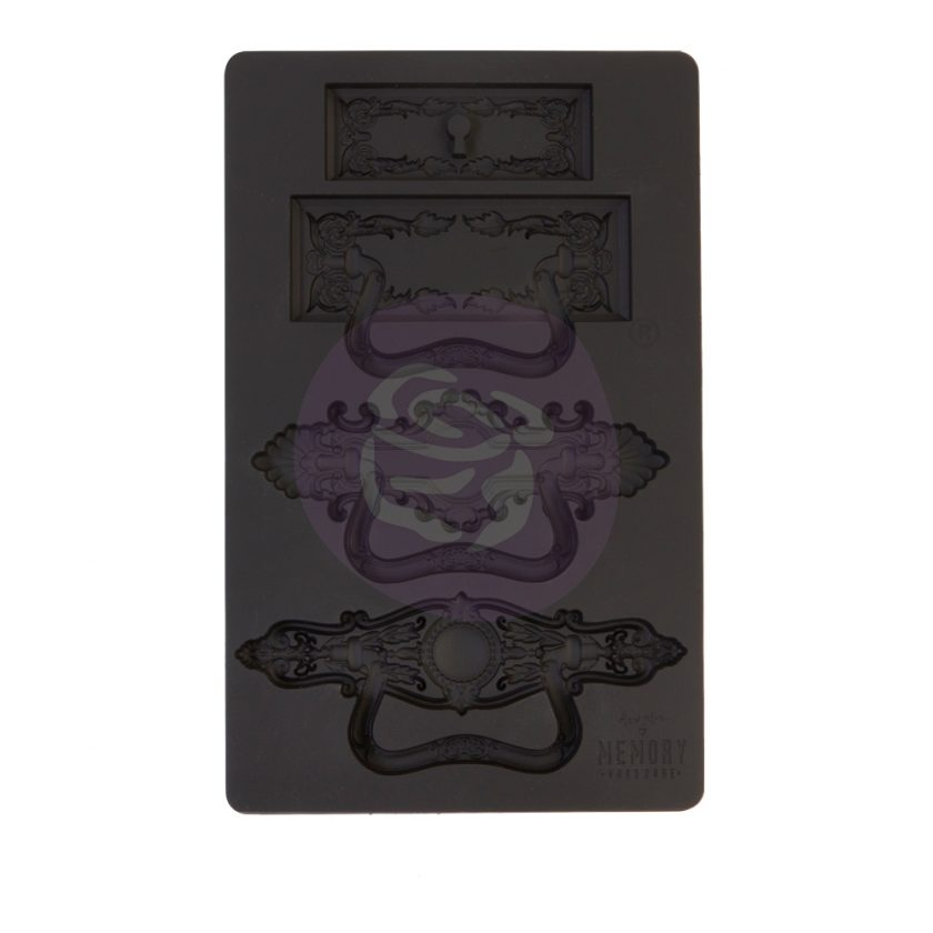 """Memory Hardware Mould - Marguerite Hardware - 5"""" x 8"""", 8mm thickness"""