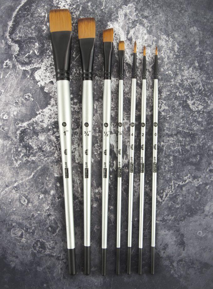 Finnabair Double-Sided Brush Set of 7