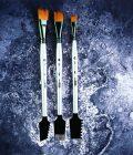 Art Basics: Double-Sided Texture Brushes Set 1 - 3 pcs