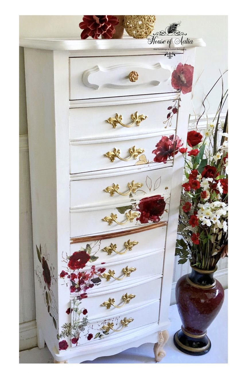 """Redesign Décor Transfers® Midnight Floral - size 22""""x 33"""""""