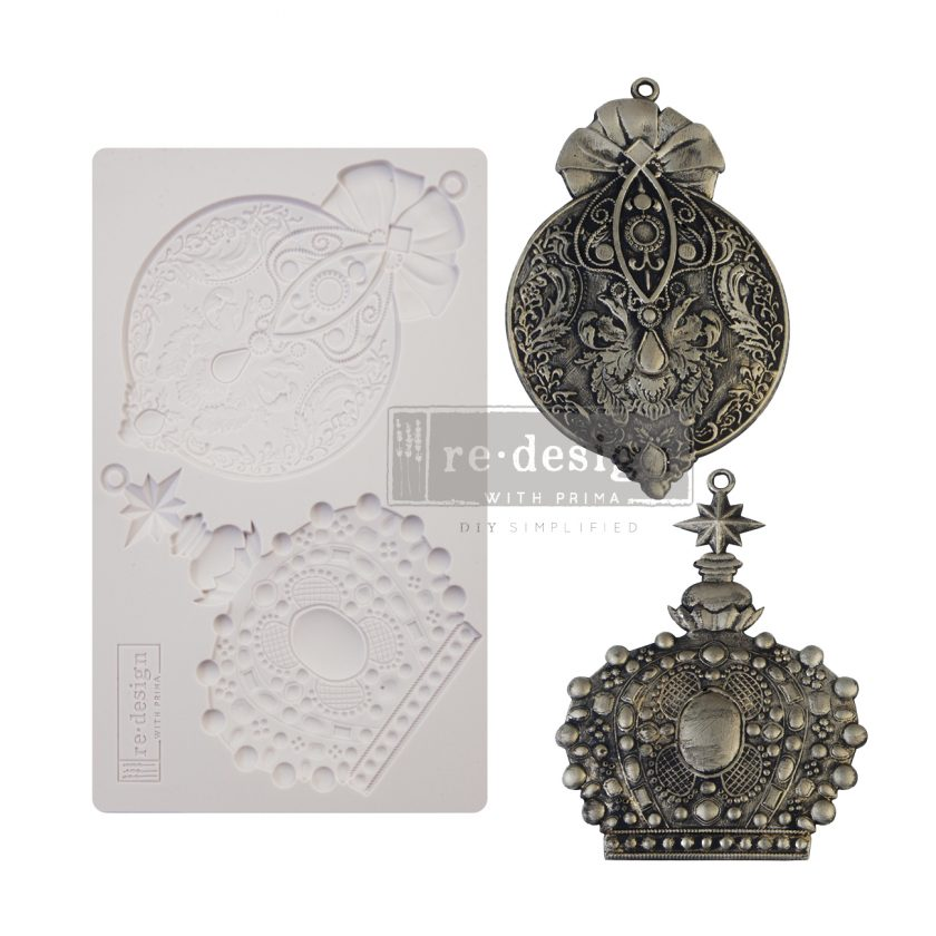 """Redesign Decor Moulds® - Victorian Adornments - 5""""x8"""", 8mm thickness"""