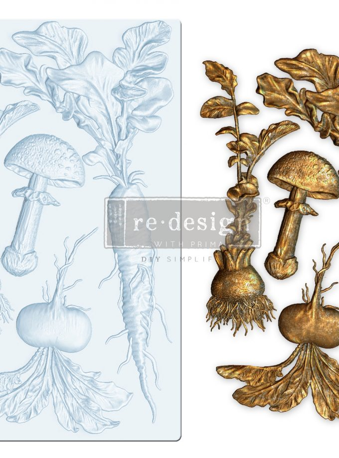 "Redesign Decor Moulds® - Vintage Roots - 5""x8"", 8mm thickness"