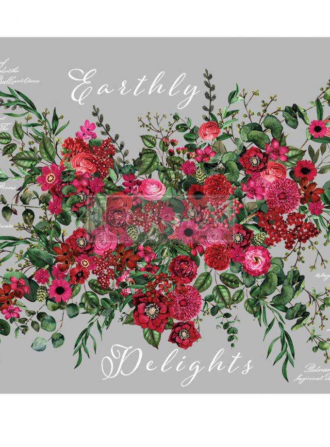 "Redesign Decor Transfers® - Earthly Delights 35""x48"""