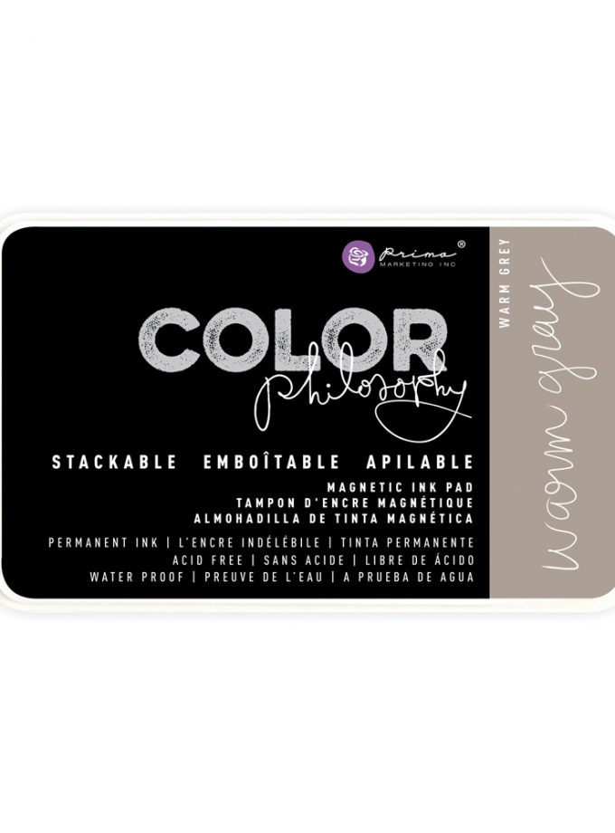 Color Philosophy Permanent Ink Warm Grey