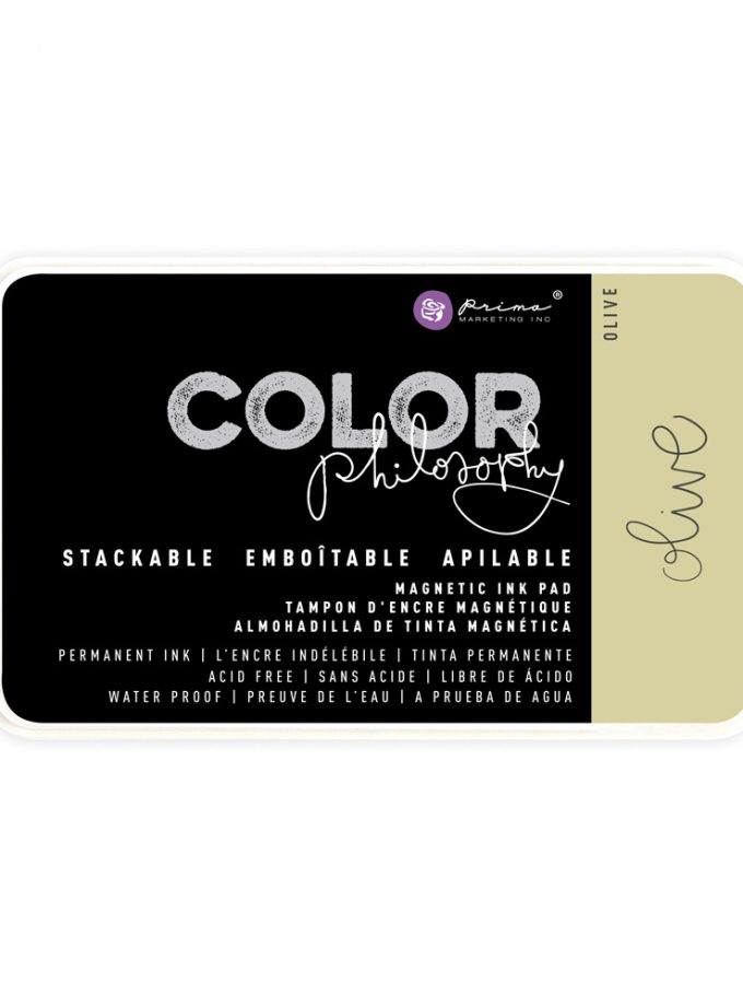 Color Philosophy Permanent Ink Olive