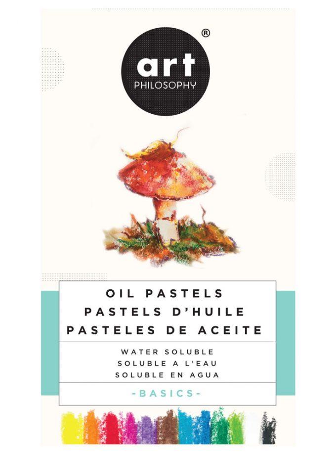 Watersoluble Oil Pastels - Basics
