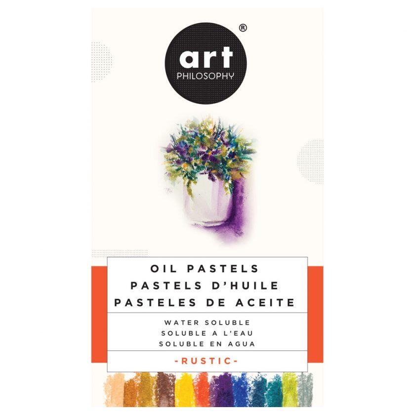 Watersoluble Oil Pastels - Rustic
