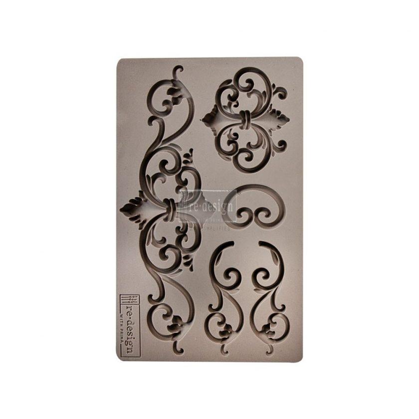 "Redesign Décor Moulds® 5""x8"" - Tillden Flourish"