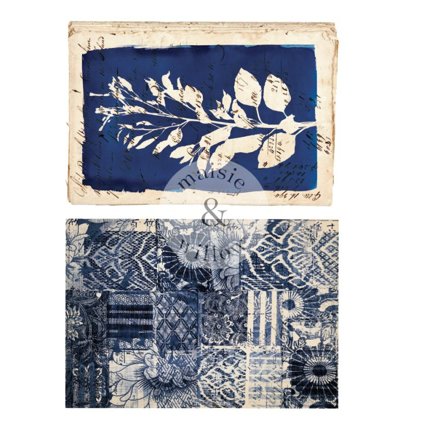 """Maisie & Willow Transfers® - Marine Prints - 2 sheets, total design size 16""""x23"""""""