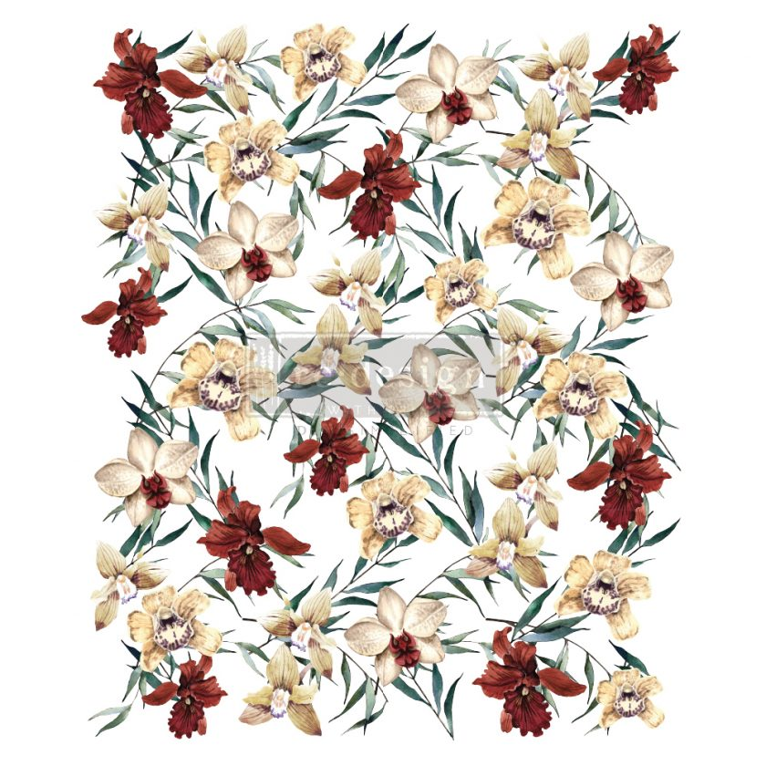 """Redesign Decor Transfers® - Wildflowers - total sheet size 24""""x35"""", cut into 3 sheets"""