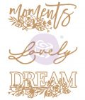 Chipboard Diecut - Words to Live By II - 3 pcs, 4.2-4.6