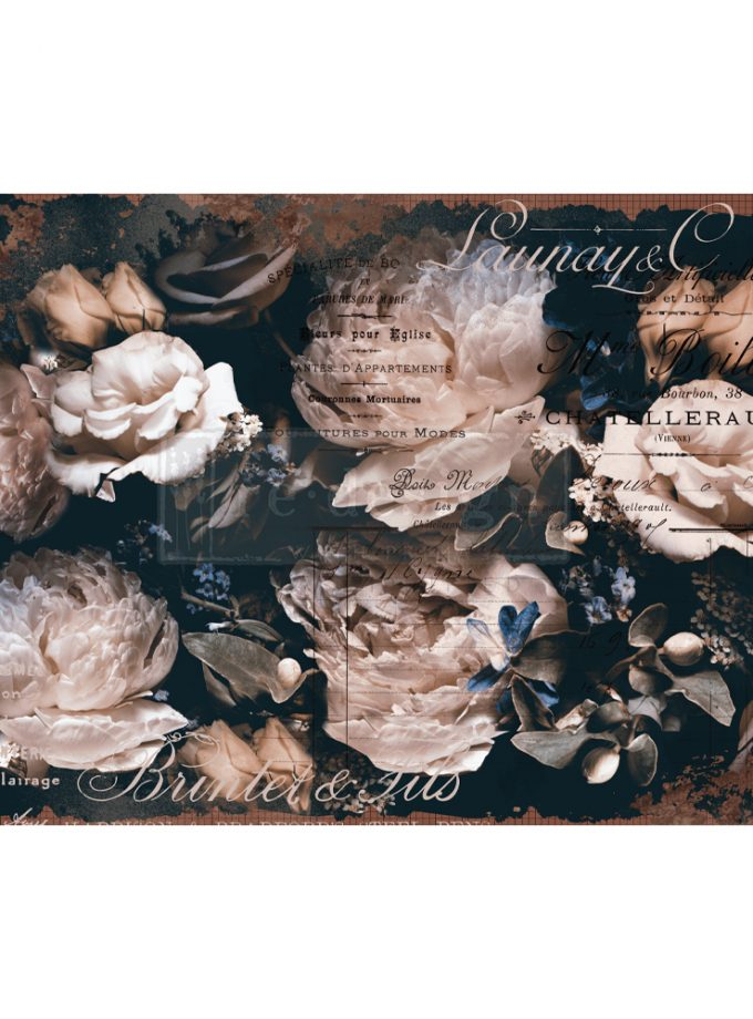 "Redesign Decoupage Decor Tissue Paper - Uniqua - 2 sheets (19"" x 30"")"