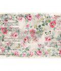 "Redesign Decoupage Décor Tissue Paper - Floral Wallpaper - 2 sheets (19"" x 30"")"