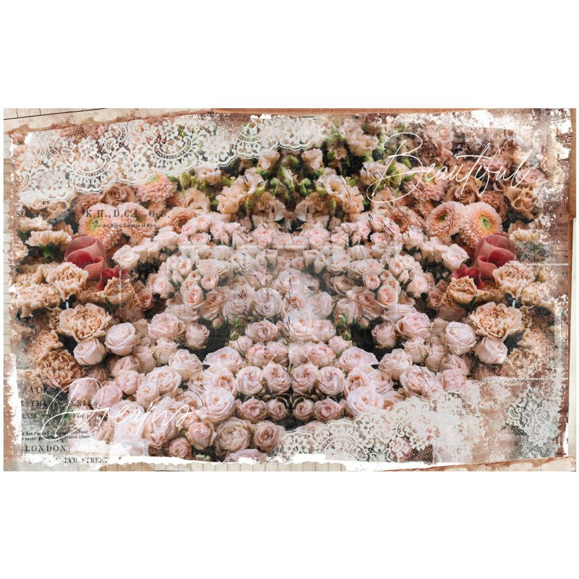 "Redesign Decoupage Decor Tissue Paper - beatiful dream - 2 sheets (19"" x 30"")"
