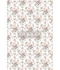 """Redesign Decor Transfers® - Floral Court - total sheet size 24""""x35"""", cut into 3 sheets"""