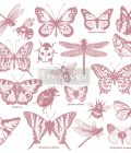 Redesign Decor Clear-Cling Stamps - Monarch Collection - 12x12 clear cling
