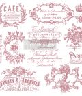 Redesign Decor Clear-Cling Stamps - I See Paris - 12x12 clear cling