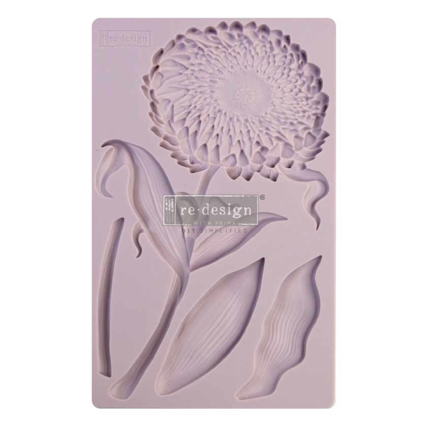 "Redesign Decor Moulds® - Grandeur Flora - 8""x5"", 8mm thickness"
