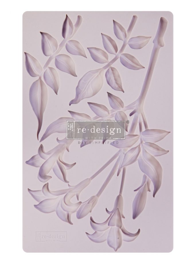 "Redesign Decor Moulds® - Lily Flowers - 8""x5"", 8mm thickness"