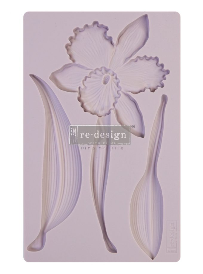 "Redesign Decor Moulds® - Wildflower - 8""x5"", 8mm thickness"