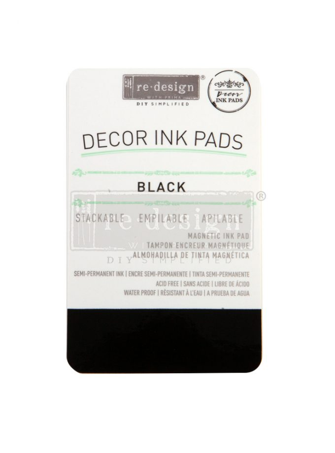 Redesign Decor Ink Pad - Black - magnetic ink pad
