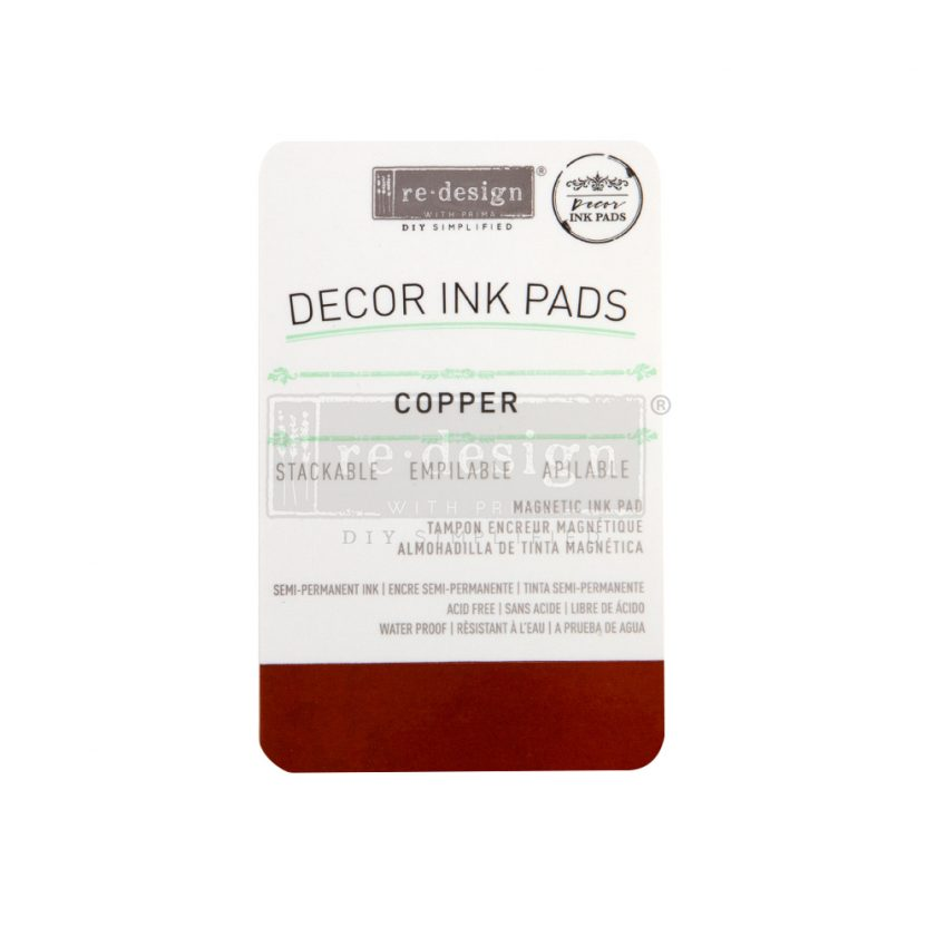 Redesign Decor Ink Pad - Copper - magnetic ink pad