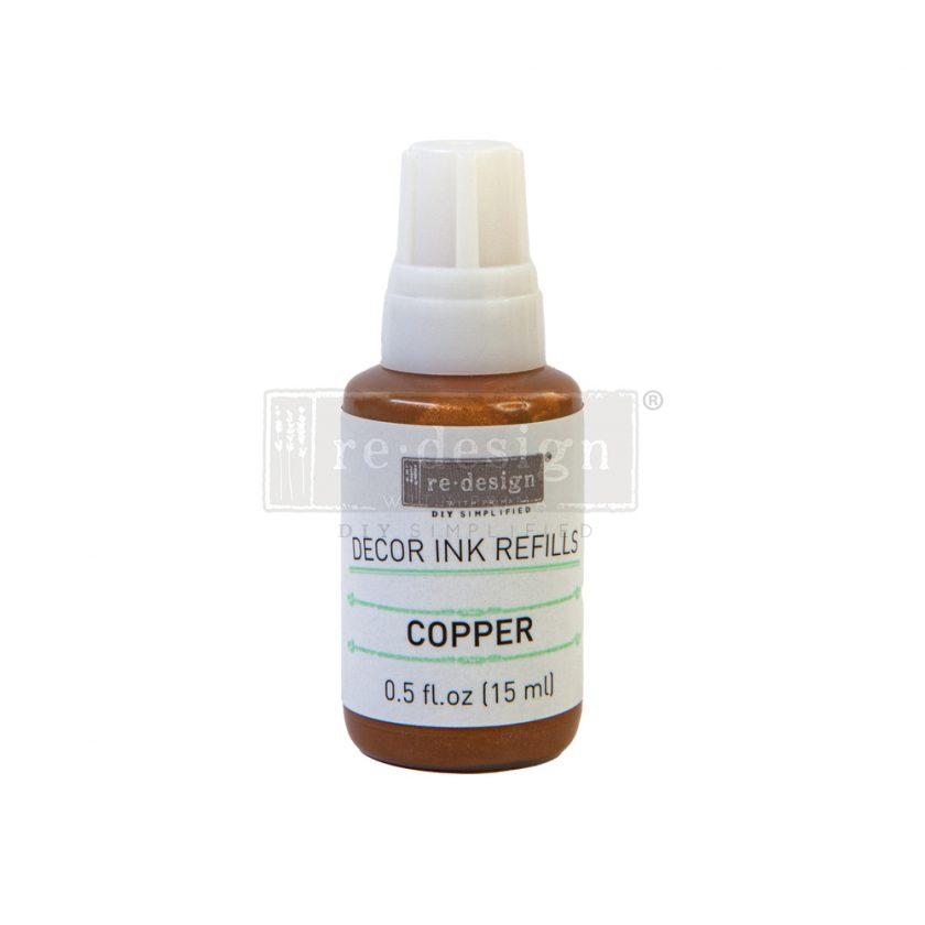 Redesign Decor Ink Refill - Copper - 0.5 oz refill