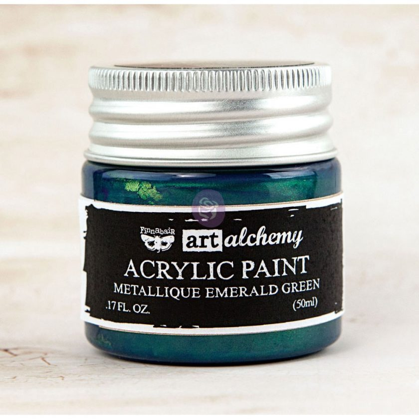 Art Alchemy-Acrylic Paint-Metallique Teal 1.7oz