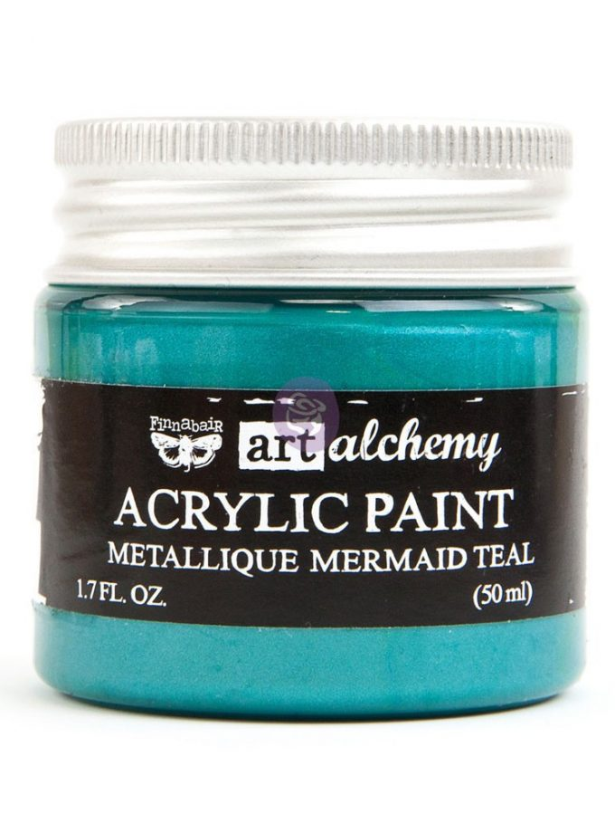 Art Alchemy - Metallique - Mermaid Teal 1.7 fl.oz (50ml)