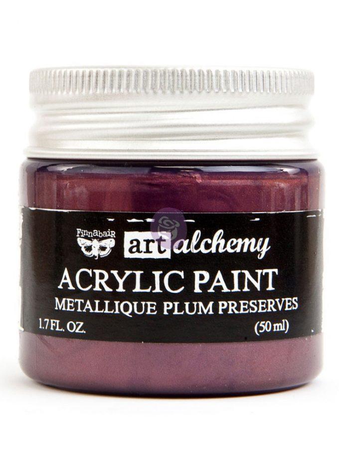 Art Alchemy - Metallique - Plum Preserves 1.7 fl.oz (50ml)