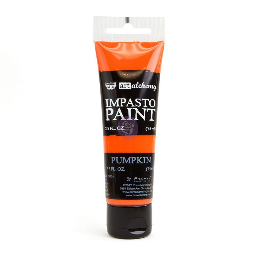Art Alchemy - Impasto Paint - Pumpkin 2.5 oz